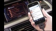 Modelos da Audi terão integração com iPhone