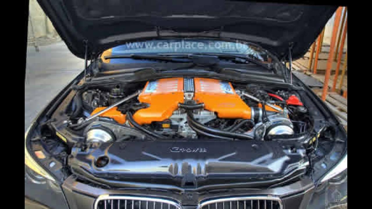 """G-Power mostra BMW M5 """"Hurricane"""" preparado com 730 cavalos!!"""