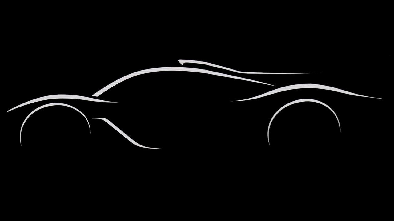 Mercedes F1 Hibrit Hiper Otomobil Teaser'ları