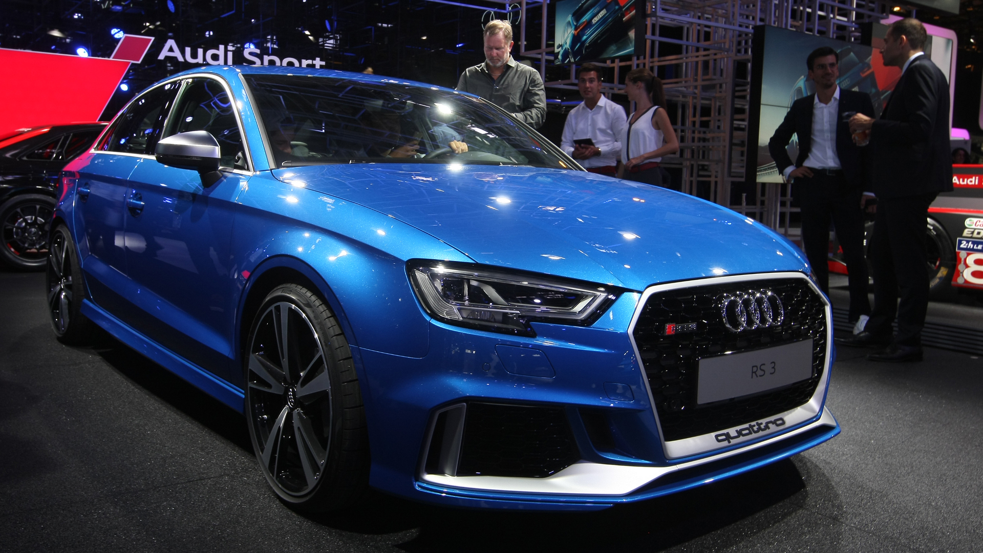 Audi Rs3 Sedan With 400 Hp Debuts In Paris Arrives In U S Next Summer