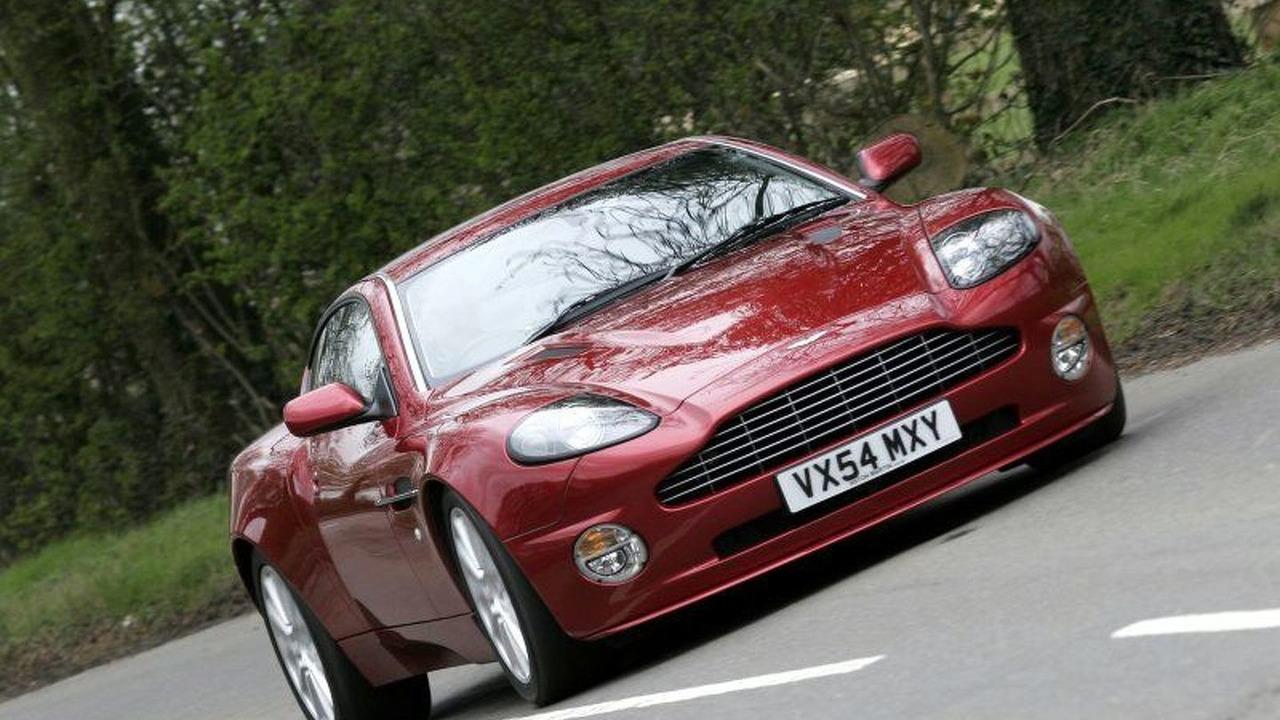 Wcf Test Drive Aston Martin Vanquish S