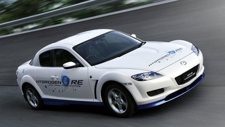 Mazda RX-8 Hydrogen RE European Debut