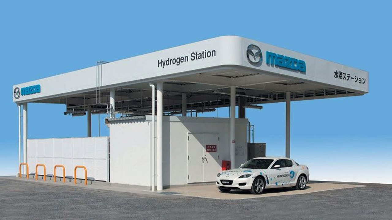 Mazda Hydrogen Filling Station 2 of 2   Motor1 com Photos