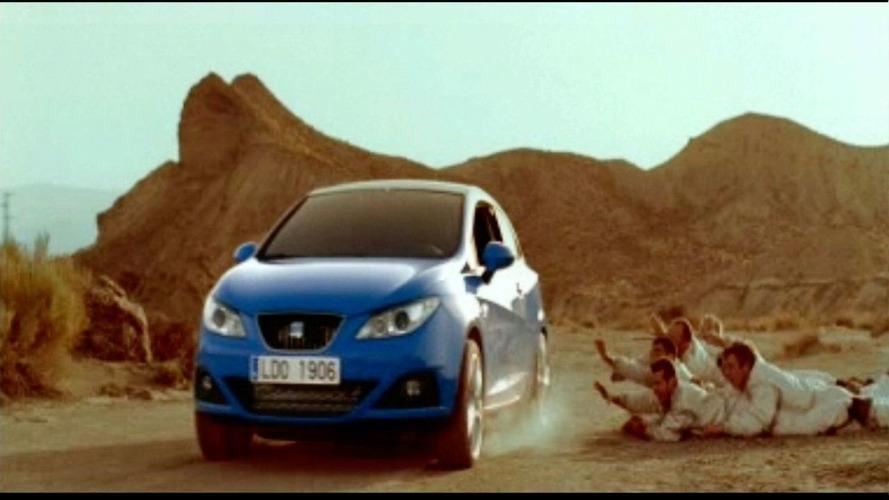 Seat Ibiza SC cinema commercial