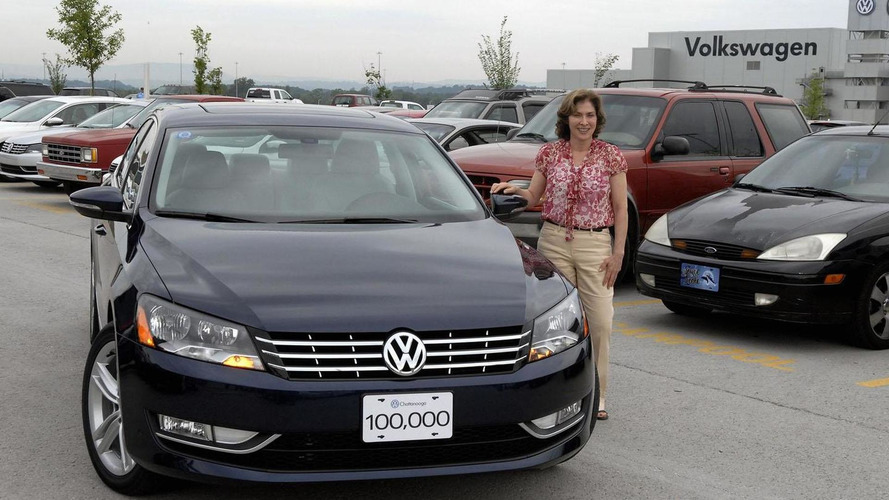 Volkswagen builds 100,000th Passat in U.S.