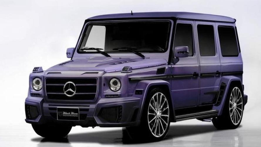 Wald International prepares a purple Mercedes-Benz G55 AMG Black Bison for SEMA