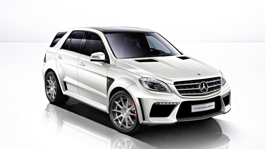 TopCar previews Mercedes-Benz ML63 AMG styling kit for first time