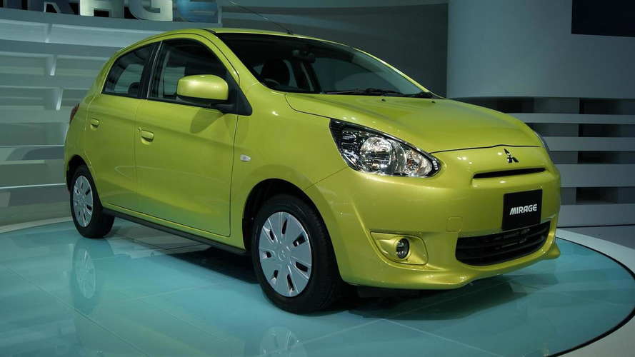 2012 Mitsubishi Mirage debuts in Japan