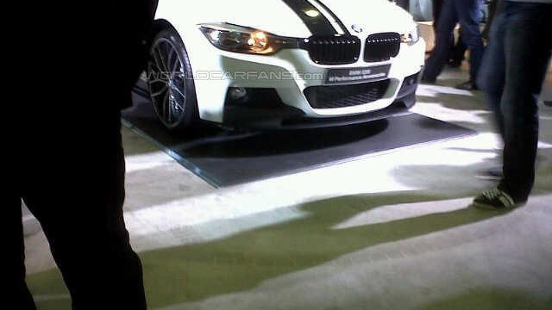 Photos Of Bmw 3 Series M Sport With M Performance Accessories At