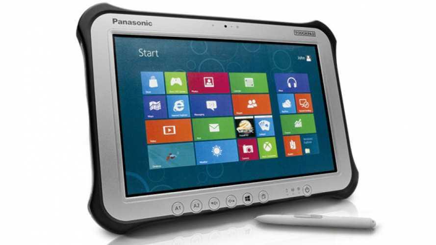 Panasonic, nuovi tablet rugged