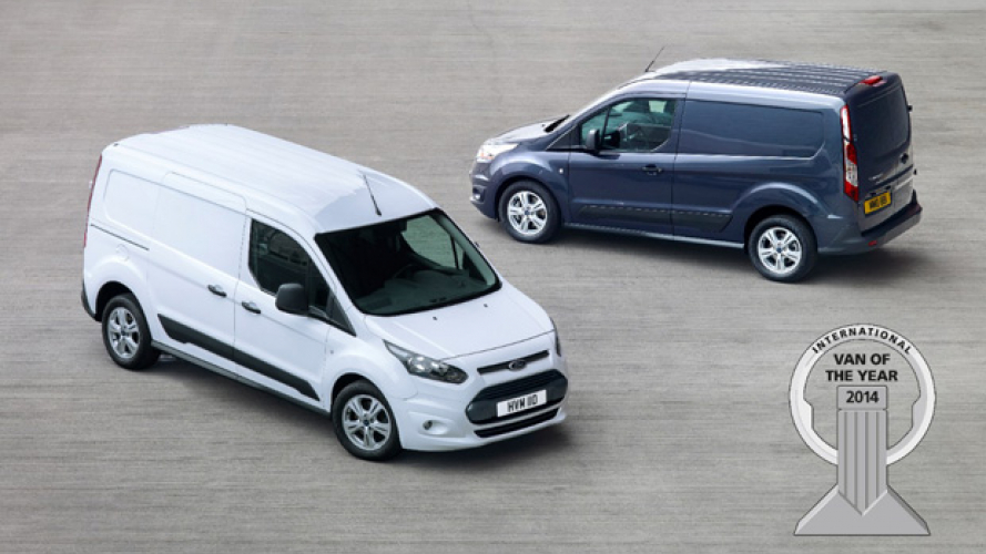 Ford Transit Connect è Van of the Year