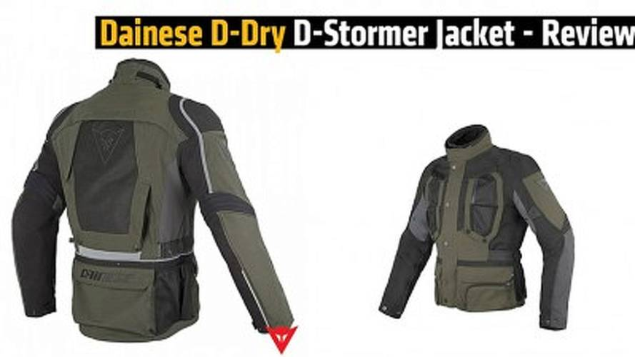 Dainese D-Dry D-Stormer Jacket - Review