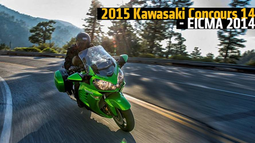 2015 Kawasaki Concours 14 - EICMA 2014