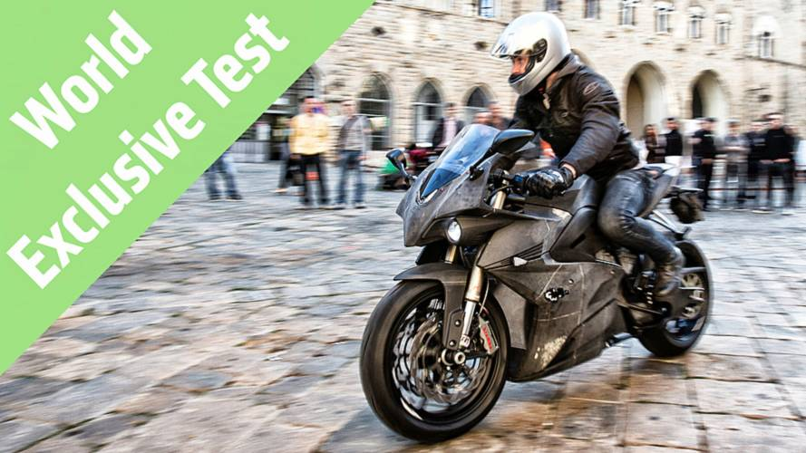 World Exclusive: 2015 Energica Ego Review
