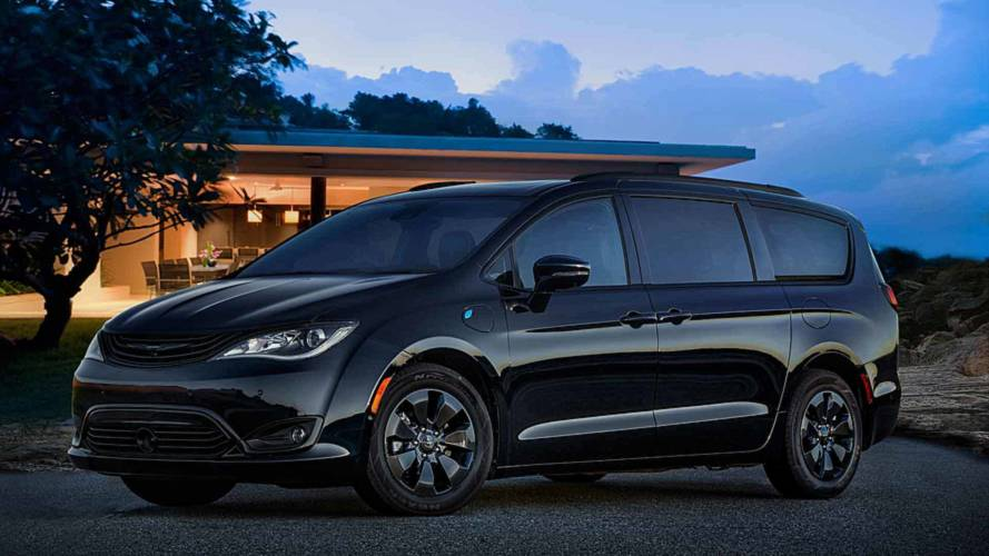 2019 Chrysler Pacifica Hybrid S Appearance Package