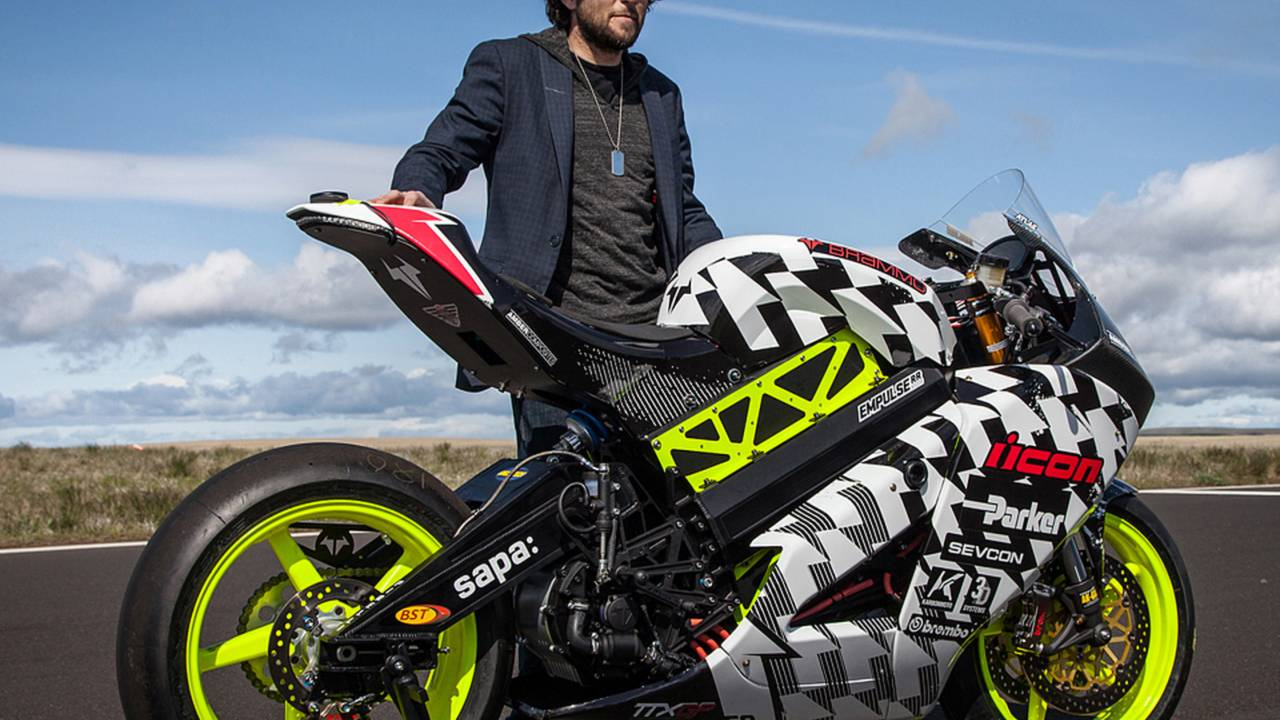 Icon x Brammo Racing