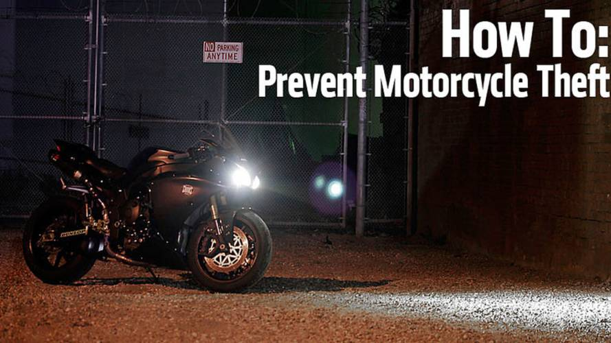 How To Prevent Motorcycle Theft
