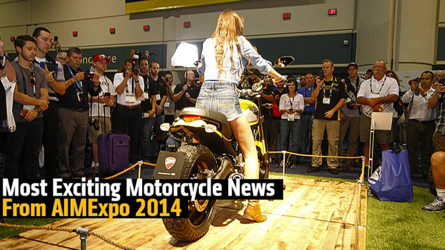 The Most Exciting Motorcycle News From AIMExpo 2014