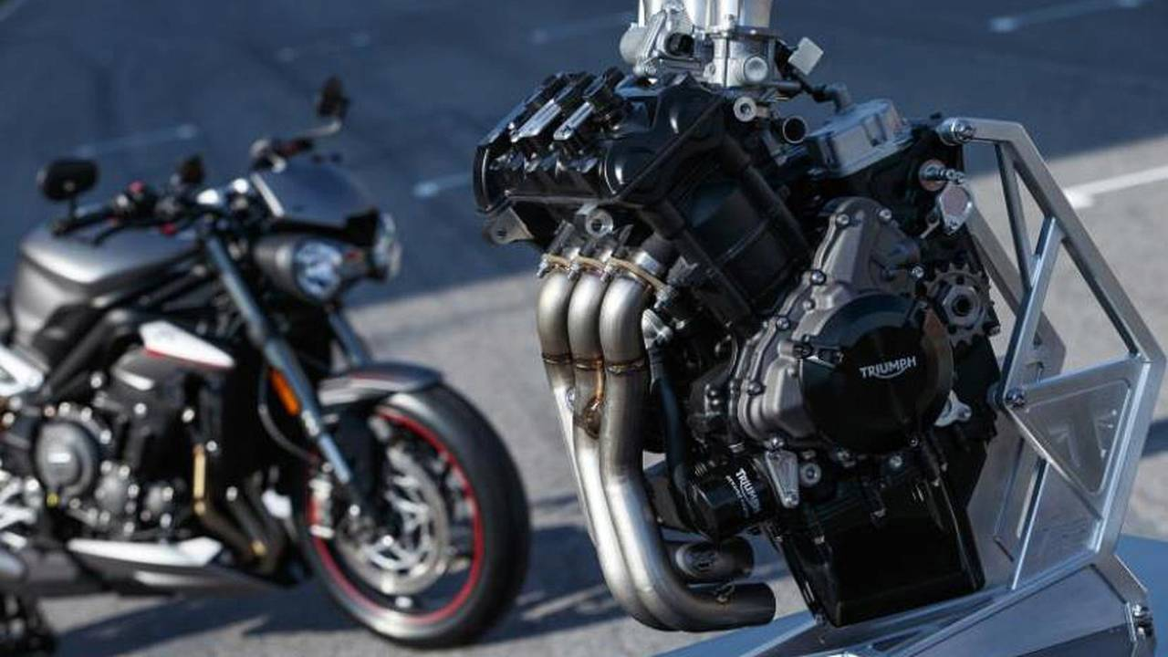 Get a taste of performance - the Moto2 bikes will share the engine of the Triumph Street Triple.