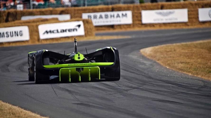 Roborace - Une auto sans pilote monte Goodwood pour la première fois !