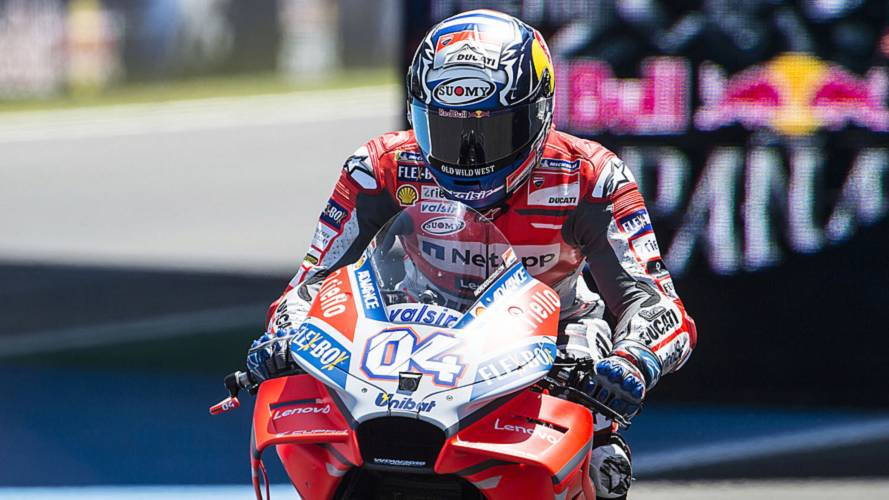 Some MotoGP Catalan GP Riders Can't Use Their Usual Helmets