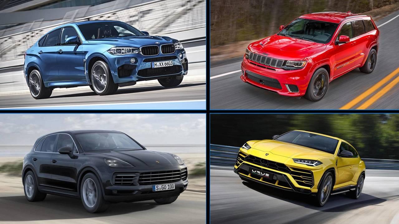 SUV potentes que aceleran como deportivos