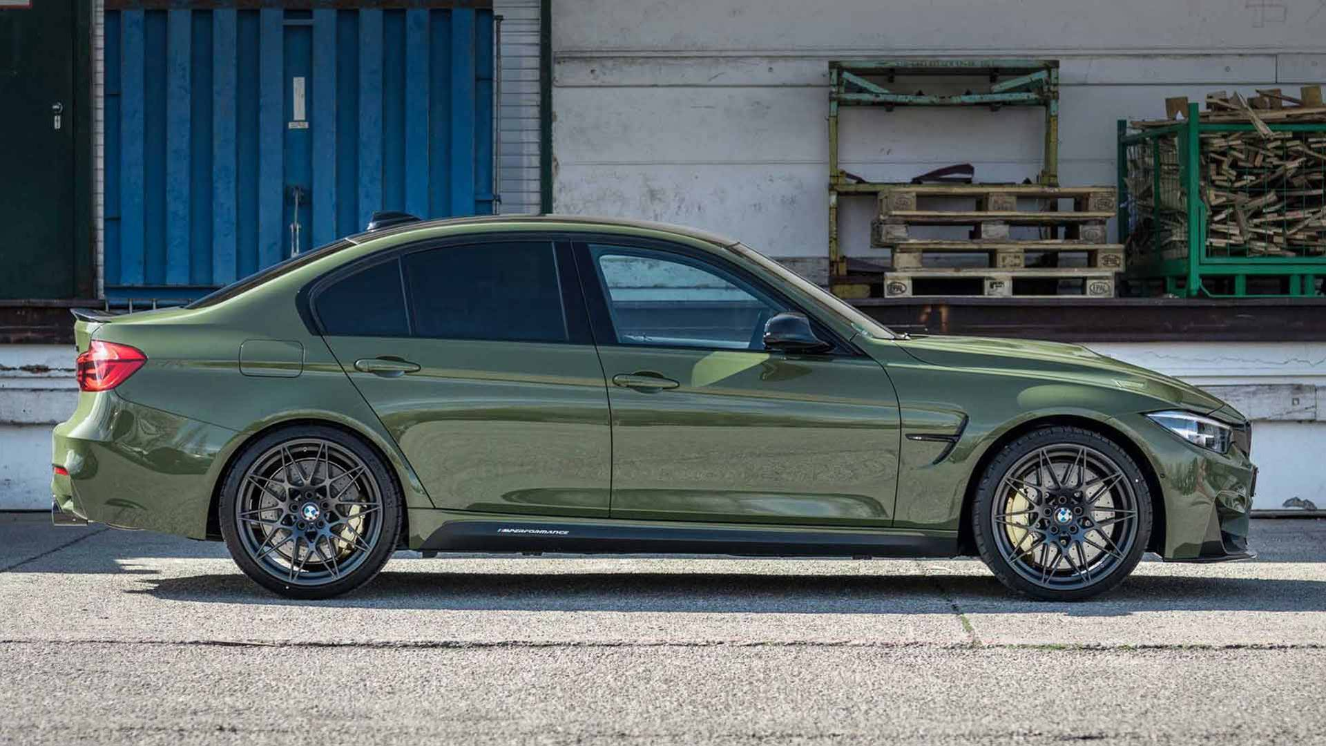 Urban Green M3 By Bmw Individual Wears Olive Color That Isn