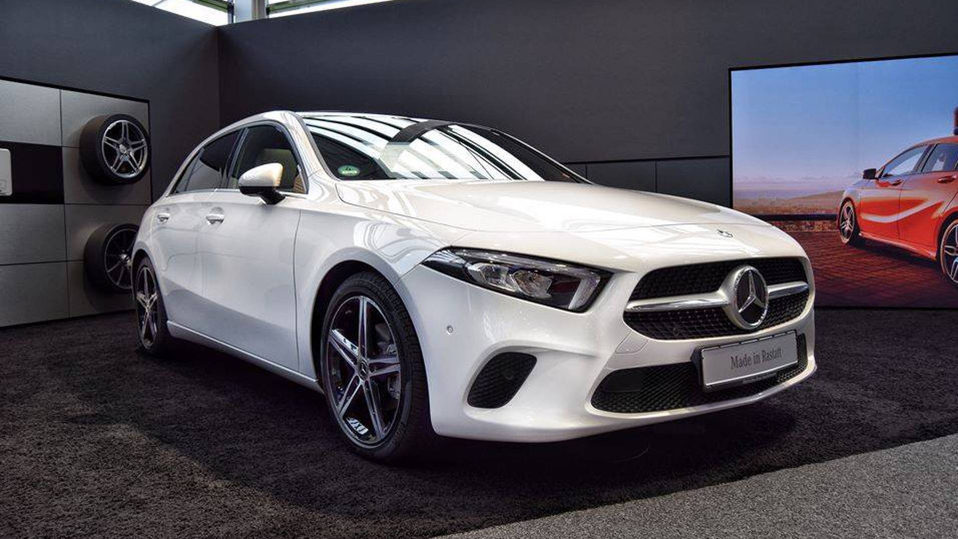 f9cd76686c Mercedes Starts A-Class Production  7 Other Compact Cars Coming
