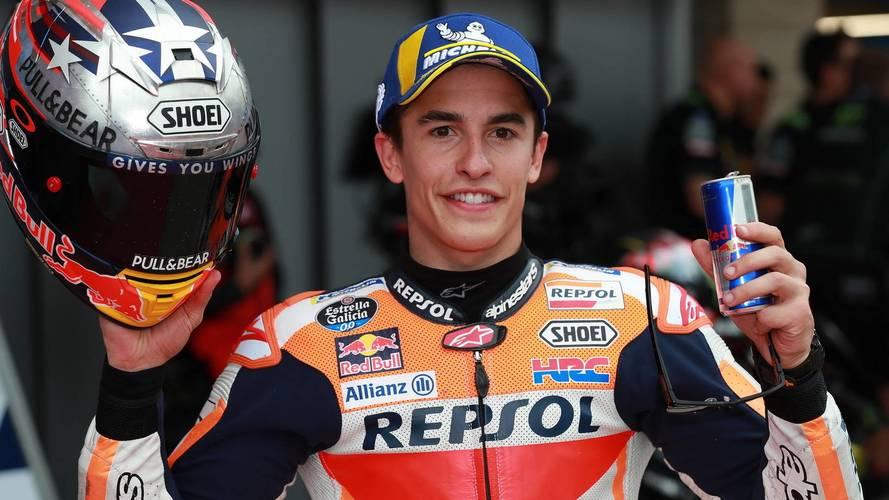 Márquez, 100 carreras a la caza de Rossi y Agostini