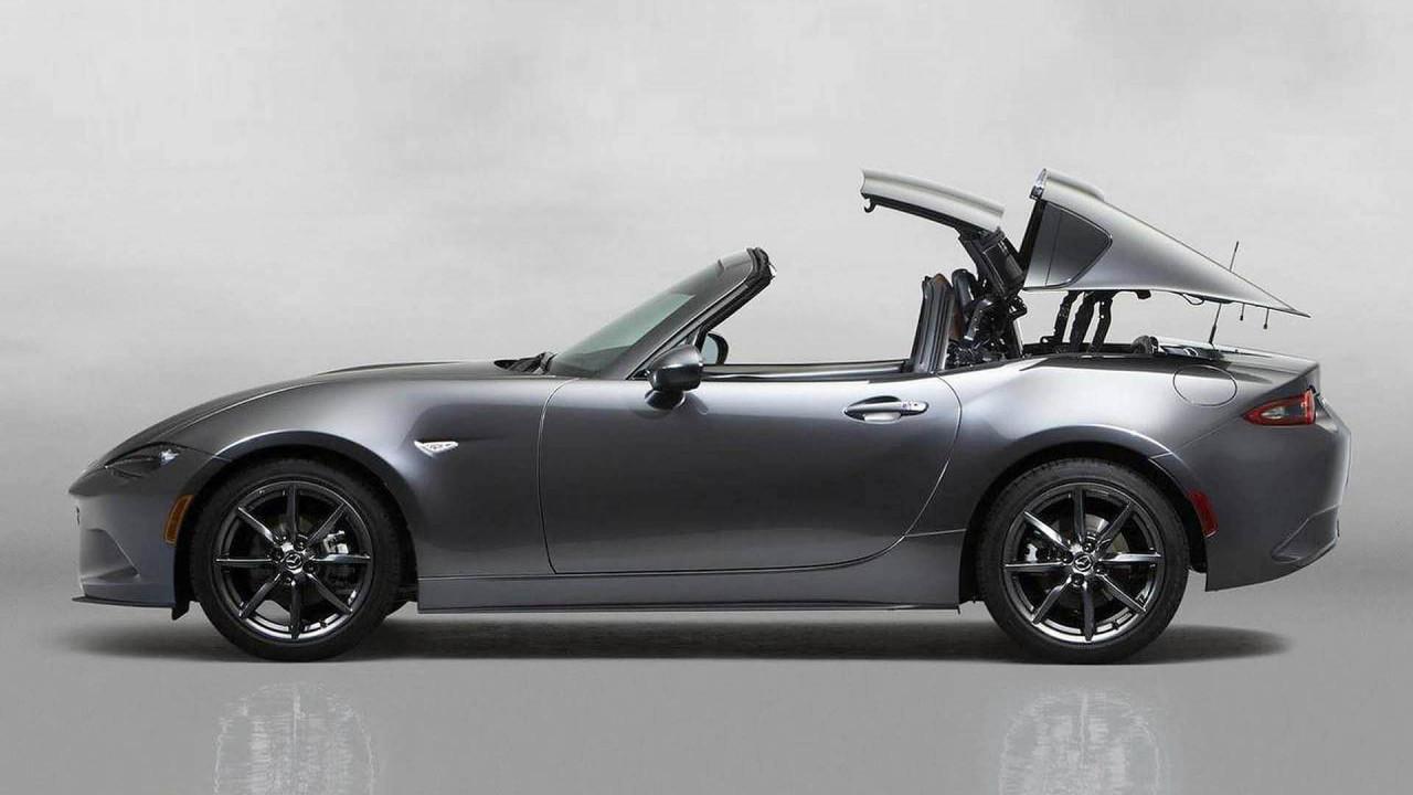 Platz 7 (geteilt): Mazda MX-5 RF; 13 Sekunden