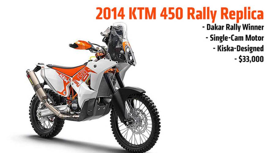 2014 KTM 450 Rally Replica — Put A Dakar Rally Winner In Your Garage
