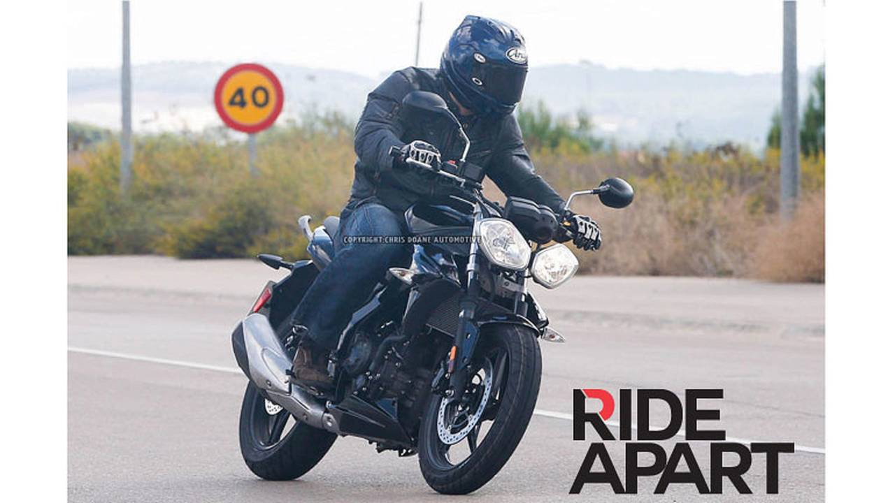 Spied: Triumph Entry-Level Street Bike Caught Testing