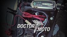 battery maintenance dr moto