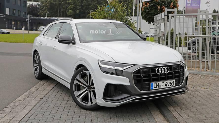 Már a Nürburgringen izzasztják az Audi SQ8-at