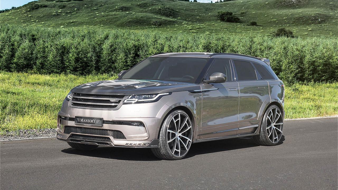 Mansory tunt Ranger Rover Velar