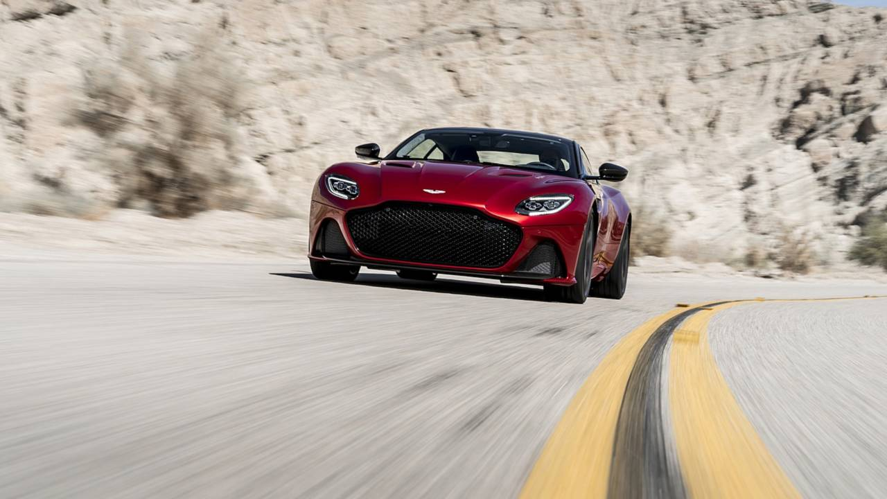 Aston Martin DBS Superleggera 2019