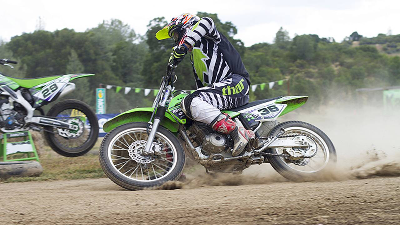 From the Couch to My First Flat Track Race