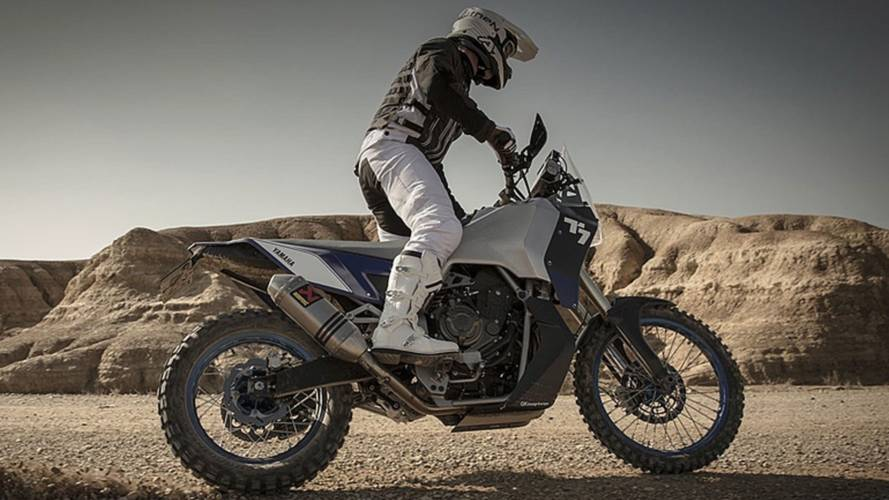 Yamaha T7 Tenere Spied - Not Just A Concept
