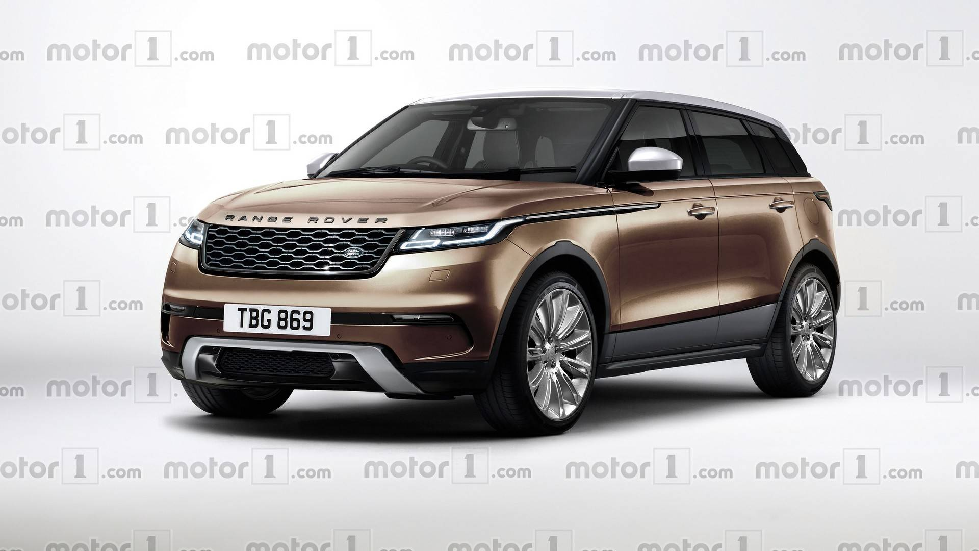 2019 range rover evoque render tries to predict the baby velar