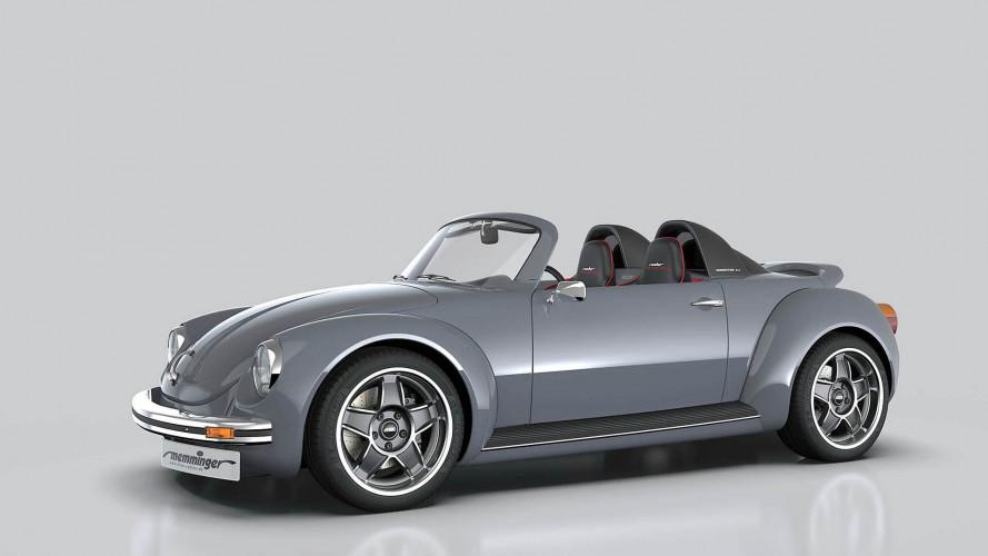 Memminger Roadster: una increíble reinterpretación del VW Beetle