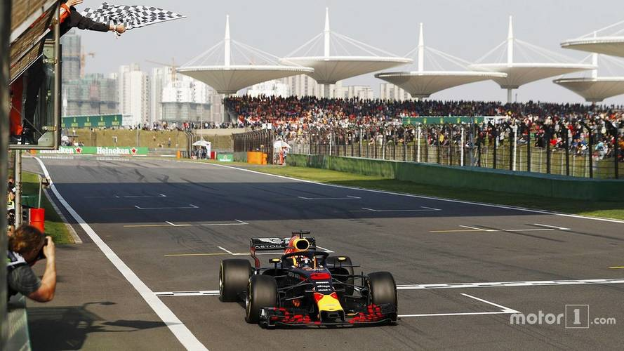 2018 F1 Chinese GP: Ricciardo Storms To Win As Verstappen Hits Vettel