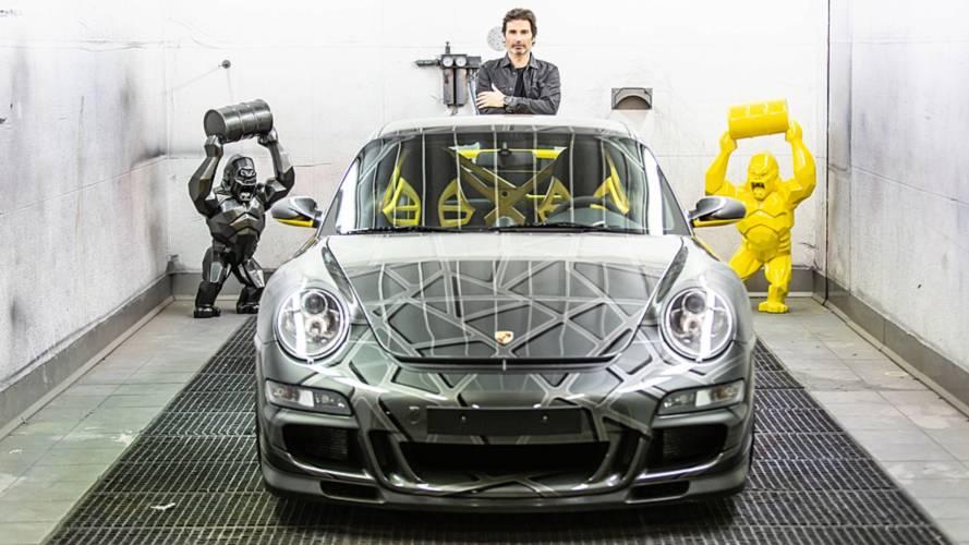 La Porsche 911 revue par le sculpteur Richard Orlinski