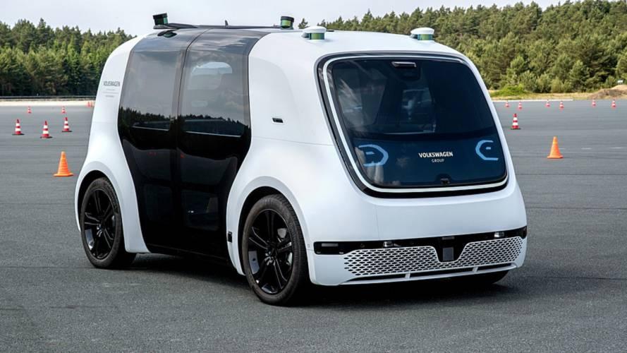 Sedric, un giro sulla Volkswagen elettrica senza volante