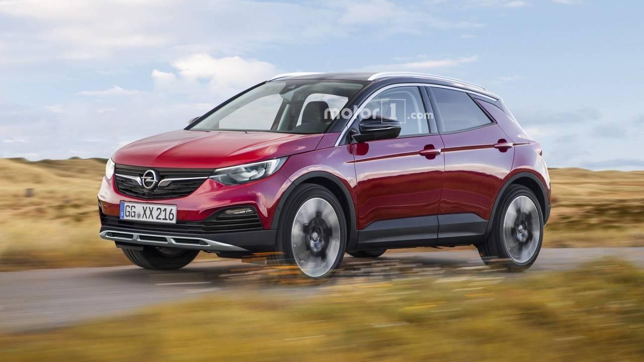 Opel Adam X render