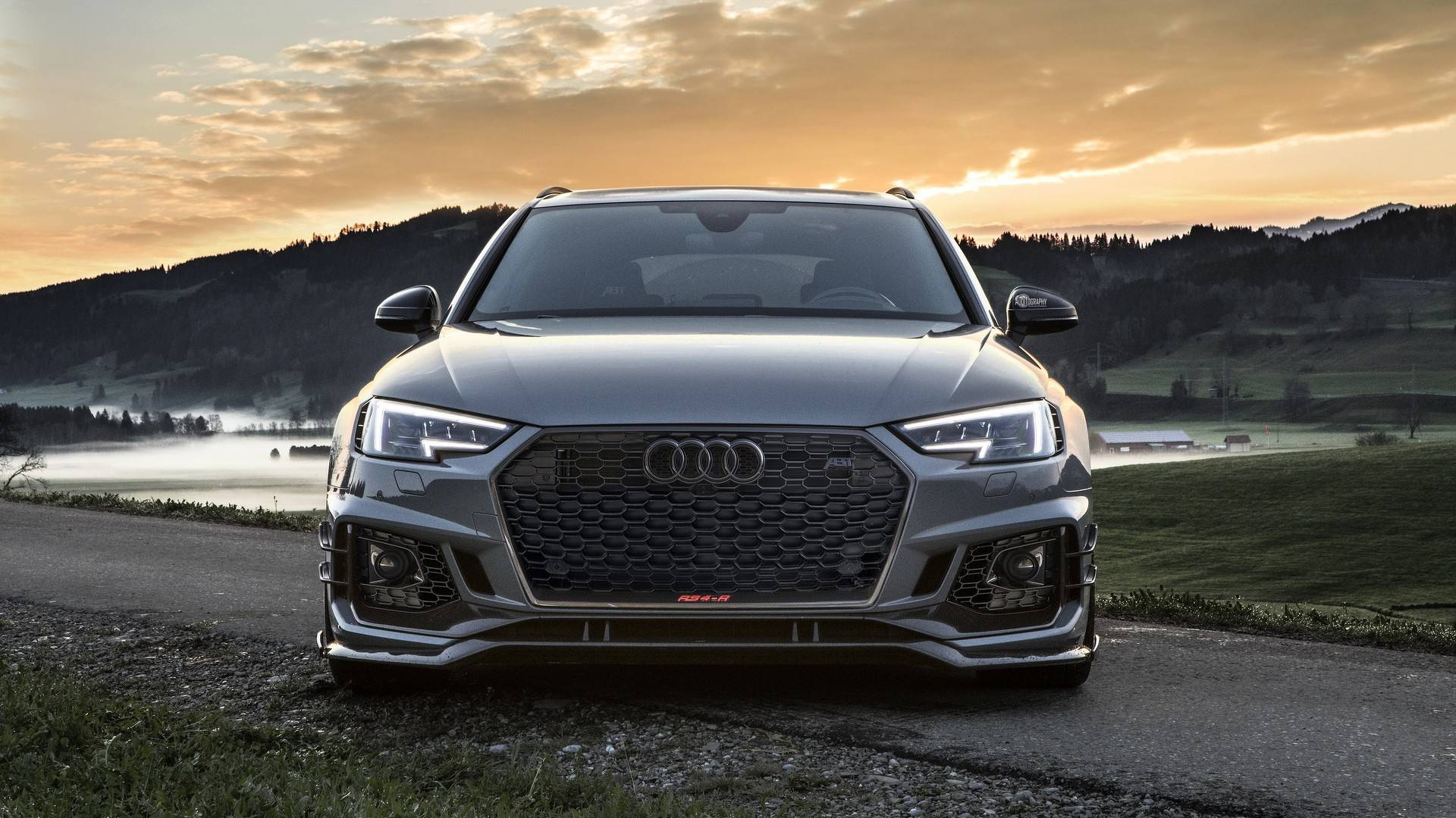 Audi Rs4 R By Abt Poses For A Very Talented Photographer