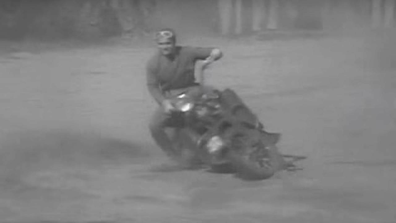 Film Vault: US Army Corps Motorcycle Training