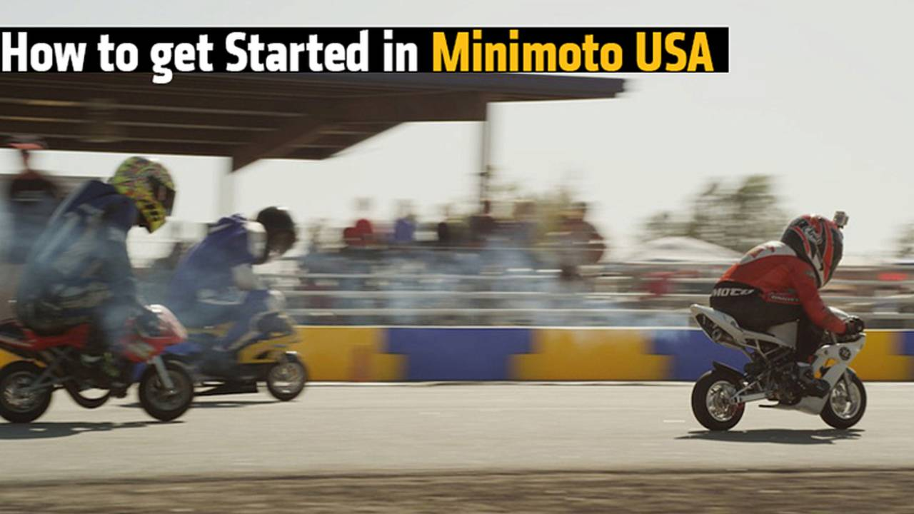 Big Riders, Tiny Bikes - How to get Started in Minimoto USA