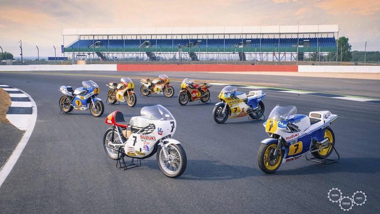 Suzuki Honors Barry Sheene at UK Show