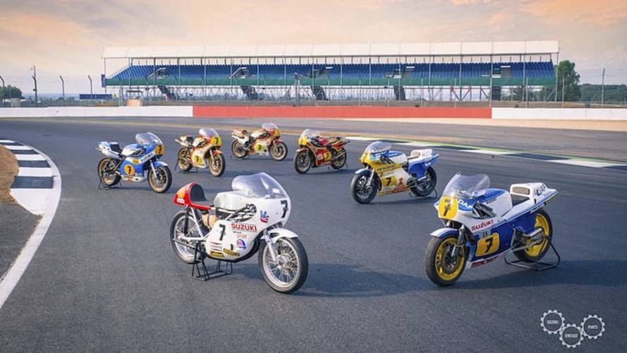 Suzuki Honors Barry Sheene at UK Show