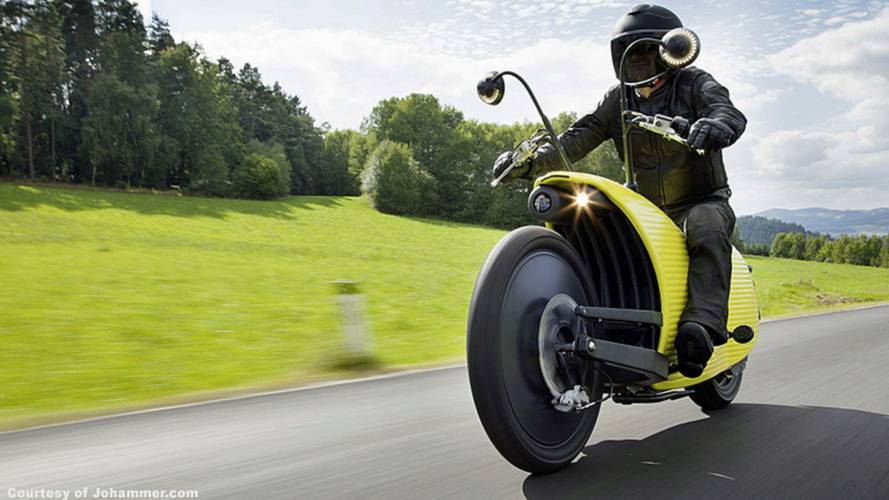 Ultra Funky Johammer J1 Electric Motorcycle